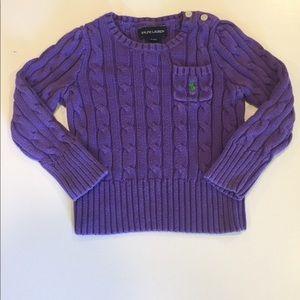 Kids Ralph Lauren Cable Knit Sweater